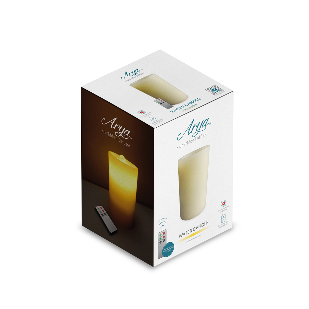 WATER CANDLE – CREMA